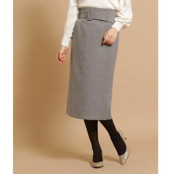 anatelier / アナトリエ ◆【Lサイズあり】千鳥ミモレタイトスカート