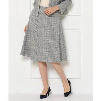 anatelier / アナトリエ 【入卒・通勤】【Lサイズあり】スラブツイードAラインスカート