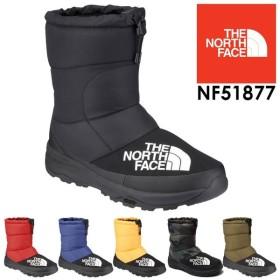 ザ・ノースフェイス THE NORTH FACE スノーブーツ 大雪 撥水 メンズ レディース NF51877 ウインターブーツ ショートブーツ ヌプシ ダウン ブーティー