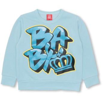 スウェット・ジャージ - BABYDOLL グラフィティ ロゴ トレーナー 1683K ベビードール BABYDOLL 子供服ベビー キッズ 男の子 女の子