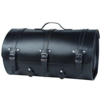 HIGHWAY HAWK ハイウェイホーク モーター スーツケースリアルレザー ラージ ブラック