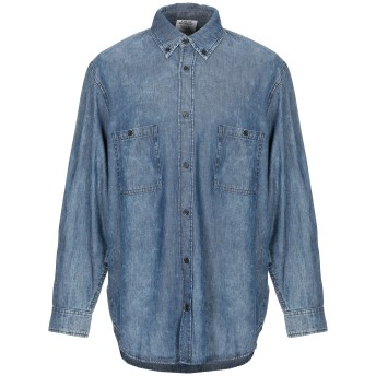 《期間限定 セール開催中》CHEAP MONDAY メンズ デニムシャツ ブルー XL コットン 100%
