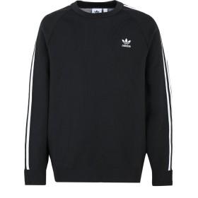 《期間限定 セール開催中》ADIDAS ORIGINALS メンズ スウェットシャツ ブラック XL ポリエステル 100% KNIT CREW