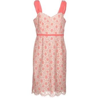《セール開催中》DIANA GALLESI レディース ミニワンピース&ドレス ピンク 50 コットン 38% / ナイロン 36% / ポリエステル 26%
