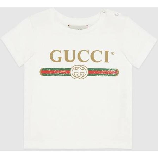 〔ベビー〕GUCCI ロゴ Tシャツ
