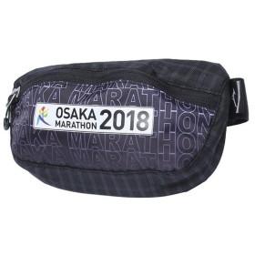 ミズノ 陸上/ランニング ウエストバッグ 大阪マラソンウエストポーチ (J3MM8Y01 09) : ブラック MIZUNO