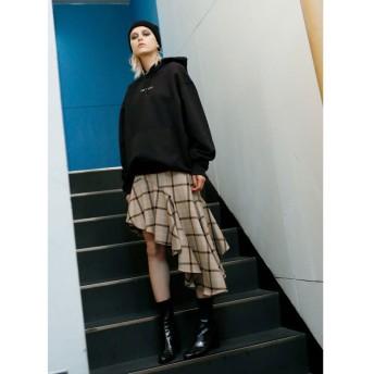 ミエリインヴァリアント ドレープスランティングスカート レディース その他 S 【MIELIINVARIANT】