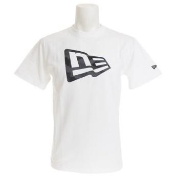 ニューエラ(NEW ERA) 【オンライン特価】 コットン半袖Tシャツ ミッドナイト フラッグロゴ 11782992 (Men's)