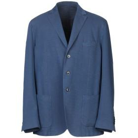 《セール開催中》EDDY & BROS メンズ テーラードジャケット ブルー 58 コットン 78% / ナイロン 22%