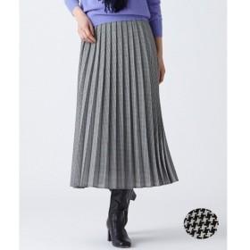 S size ONWARD(小さいサイズ) / エスサイズオンワード ウーステッド プリーツ スカート
