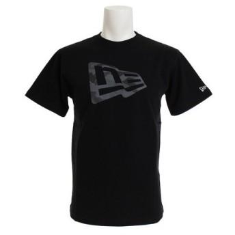 ニューエラ(NEW ERA) 【オンライン特価】 コットン半袖Tシャツ ミッドナイト フラッグロゴ 11782993 (Men's)