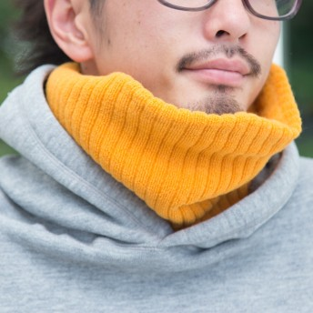 もちはだ Wネックウォーマー 極厚地(男女兼用) ネックウォーマー マフラー 日本製