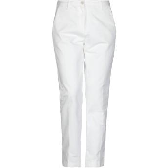 《セール開催中》MASSIMO ALBA レディース パンツ ホワイト 40 コットン 100%