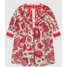 〔チルドレンズ〕ウォーターカラー フラワー ドレス