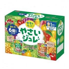 野菜をもっと!やさいジュレ 緑黄色野菜と果物 6個パック