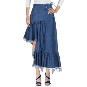 《期間限定 セール開催中》MARQUES' ALMEIDA レディース デニムスカート ブルー 6 コットン 100%