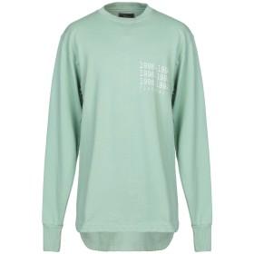 《セール開催中》PAURA メンズ スウェットシャツ グリーン S コットン 100%