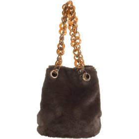 [MERCURYDUO]クリアハンドルファー巾着BAG