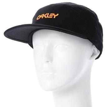 オークリー メンズ キャップ 5 PANEL COTTON HAT (912014-02E) : ブラック OAKLEY