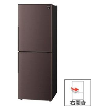 【シャープ】 冷蔵庫 SJ-PD28E-T 冷蔵庫 240Lから