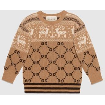 〔チルドレンズ〕GGトナカイ ウール セーター