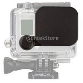 ノーブランド品 防水カメラハウジングレンズキャップカバー Gopro Hero 4 3+に適用