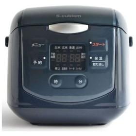 A-Stage  SCR-H40N 4合炊きマイコン式炊飯器 ネイビー SCRH40N