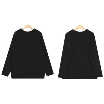 ニット・セーター - ONNY SHOP 【AIN エイイン】peanut lambswool half polar knit P0000XHH ニット 韓国ファッション