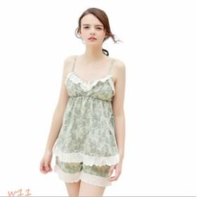 bef92535fdb83 パジャマ レディース 綿 刺繍 ルームウェア ネグリジェ ロリータ風 部屋着 寝巻き 上下セット 3
