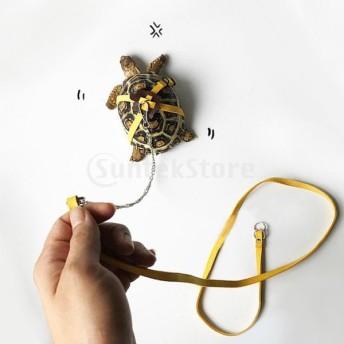 小さなペット動物屋外用の調整可能なペットカメハーネスリーシュリード