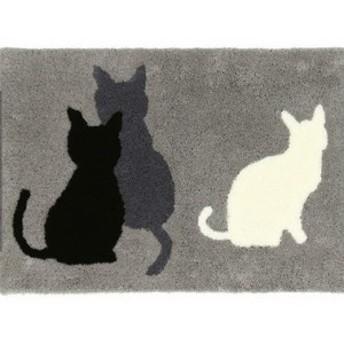 ミミフック マット ねこ 猫 ネコ(送料無料)(マット、玄関、雑貨)