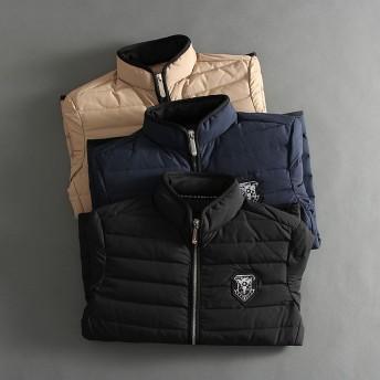 ダウンジャケット・ダウンコート - RAiseNsE ダウンジャケット シンプル ダウン80% アウター メンズ 防寒 無地 軽量 秋冬 [3色]#T985