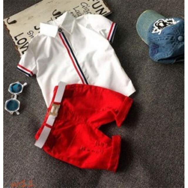 e47ca62b15575 子供服 ベスト 男の子 ポロシャツ 入学式 卒業式 130cm 学生服子ども 半袖 80cm 2