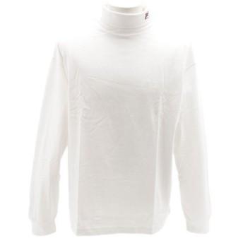 フィラ(FILA) タートルネック 長袖Tシャツ FM9436-01 (Men's)