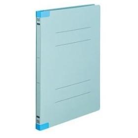 ds-2129469 (まとめ)TANOSEEフラットファイル(背補強タイプ) A4タテ 150枚収容 背幅18mm ブルー1セット(30冊:10冊×3パック) 【×3セット】