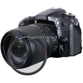 ノーブランド品  ユニバーサルDSLRカメラ用 82mm スターフィルター  - 4点