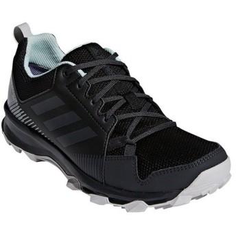 アディダス(adidas) レディース トレイルウォーキングシューズ TERREX TRACEROCKER GTX W コアブラック/カーボン/アッシュグリーン EFW65 CM7597