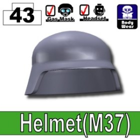 カスタムレゴ カスタムパーツ LEGO 装備 備品 スワット SWAT 世界大戦   M37 ヘルメット ダー