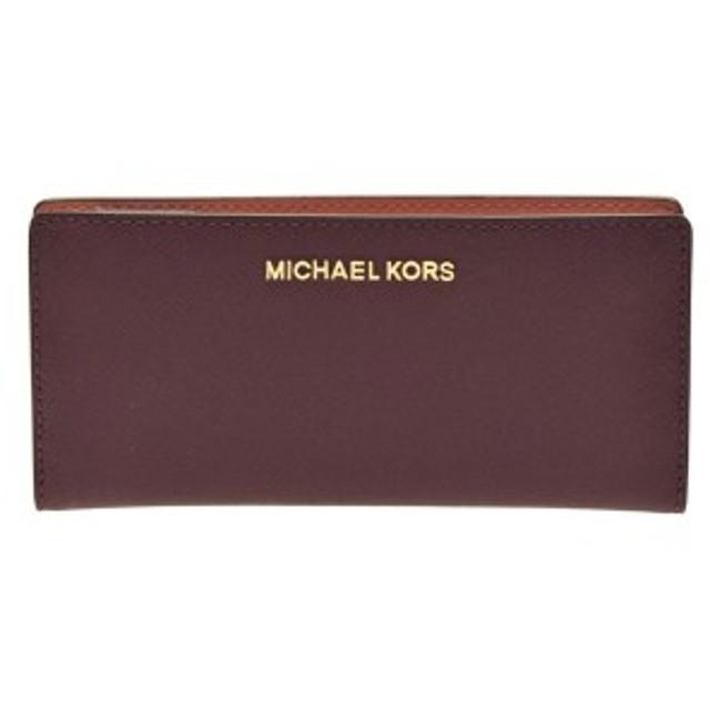 low priced e1447 34617 セール】マイケルコース 財布 MICHAEL KORS 二つ折り長財布 ...