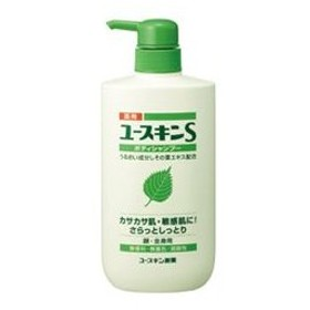 ユースキン製薬 YUSKIN 薬用ユースキンS ボディシャンプー 500ml 化粧品 コスメ