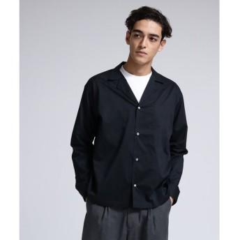 tk.TAKEO KIKUCHI / ティーケー タケオキクチ 高密度ワッシャーオープンカラーシャツ