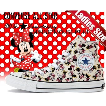 CONVERSE コンバース スニーカーALL STAR 100 MINNIE MOUSE PT HI MULTI 5CK850