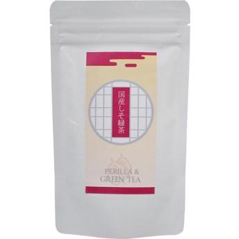 小川生薬の国産しそ緑茶 ティーバッグ (32g(16袋入))