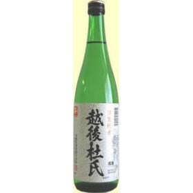 【蔵元直送】[新潟県] 淡麗純米 越後杜氏・720ml 金鵄盃酒造 日本酒