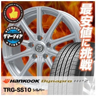 215/70R16 100H ハンコック ダイナプロ HP2 TRG-SS10 サマータイヤホイール4本セット