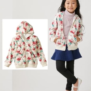 あったか裏シャギー パーカージャケット(男の子。女の子 子供服。ジュニア服) ジャケット・ブルゾン