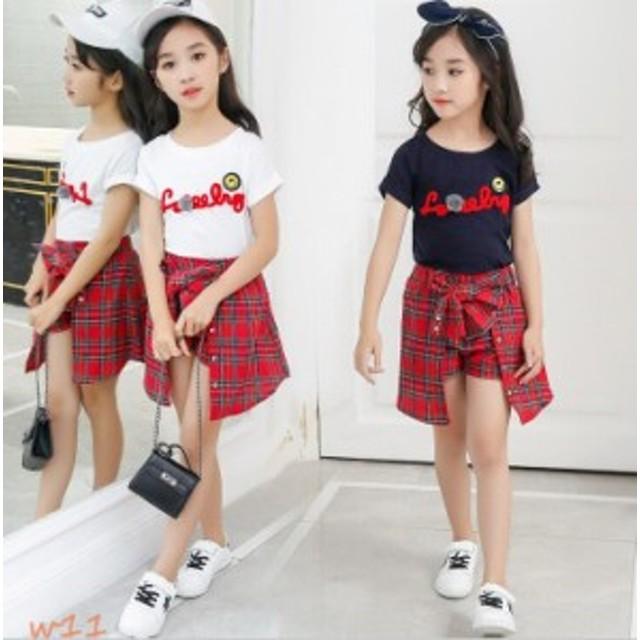 a3f808045c44b 子供服 女の子 ガールズ クラシック キャラクター おしゃれ 上下セット 韓国 ファッション 綿98% 韓国風