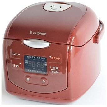 A-Stage SCR-H40R 4合炊きマイコン式炊飯器 レッド SCRH40R