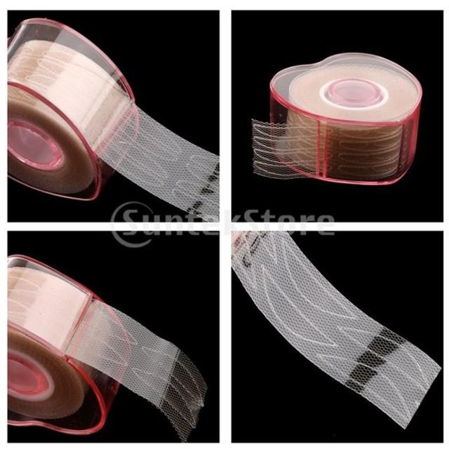 1ロール目に見えない繊維二重まぶたリフトストリップテープ粘着ステッカー