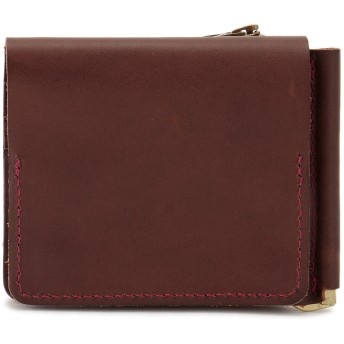 SLOW SLOW スロウ 財布 ウォレット toscana -compact wallet(money clip with coin & card pocket)- 財布,チョコ
